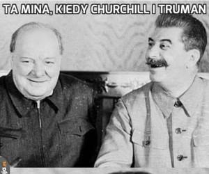 Ta mina, kiedy Churchill i Truman