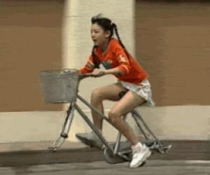 Rower szybszy od kół
