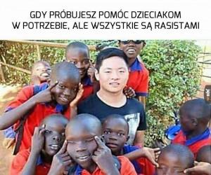 Zachciało się pomagać w Afryce...