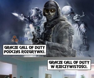 Gracze Call of Duty
