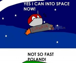 Poland can't into space yet