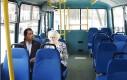 Kiedy jedziesz san autobusem i nagle jakaś pani siada obok ciebie