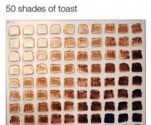 50 twarzy tosta