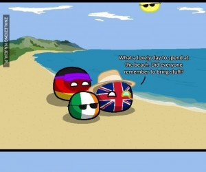 Miły dzień na plaży