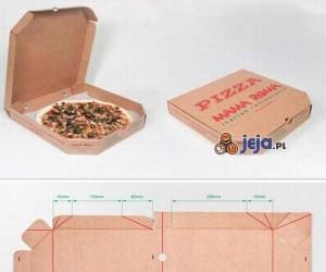 Podstawka do laptopa z pudełka po pizzy