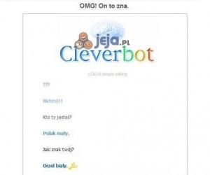 Cleverbot coś wie? Muszę sprawdzić!