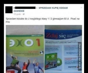 No, ale książek od polskiego