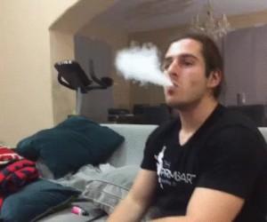 Nie ma to jak złapać dym