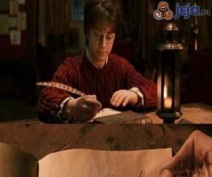 List do Harrego Pottera