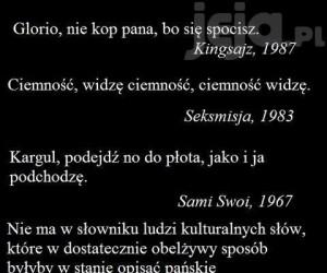 Kultowe cytaty z polskich filmów