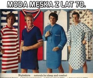 Moda męska z lat 70.