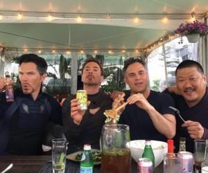 Tymczasem na planie Avengers...