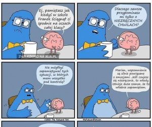 Ciężko się żyje z tym moim mózgiem