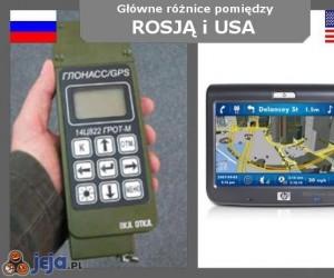 Rosja vs USA - Nawigacja