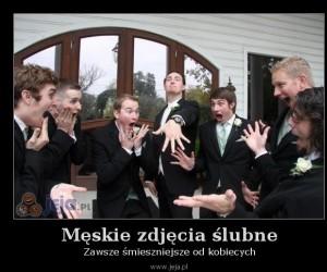 Męskie zdjęcia ślubne
