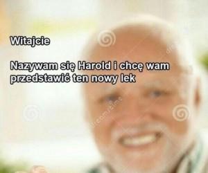 Witajcie, jestem Harold!
