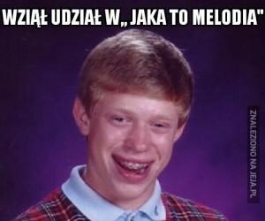 """Wziął udział w """"Jaka to melodia"""""""