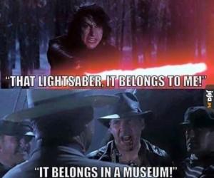 Jego miejsce jest w muzeum!