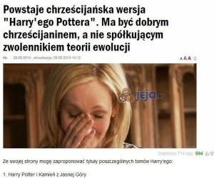 Chrześcijański Harry Potter