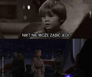 Mały Anakin jeszcze nie wiedział...