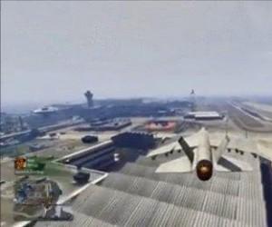 Prosto do hangaru