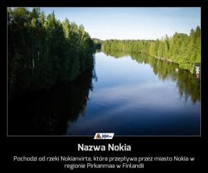 Nazwa Nokia