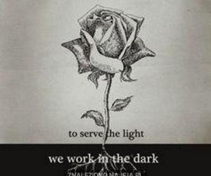 Pracujemy w ciemności, by utrzymać światło
