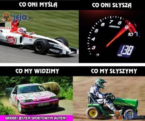 Jestem sportowym autem!