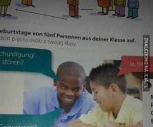 Tymczasem w książce z niemieckiego...