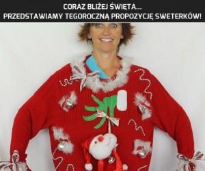 Świąteczne sweterki - musisz to mieć!