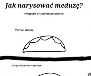 Poradnik: Jak narysować meduzę?