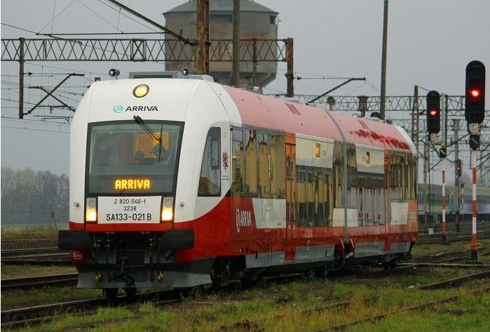 SA133-021 na prezentacji nowych pociągów ARRIVA