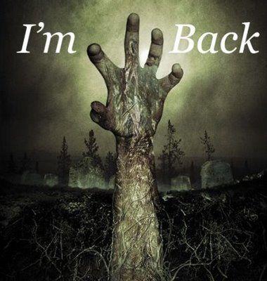 I'm back.