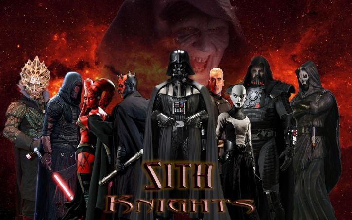 Najwięksi Lordowie Sithów.
