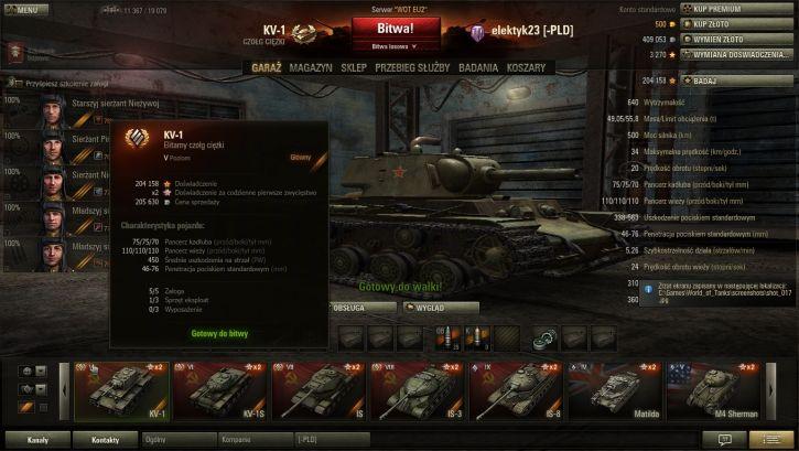 Mój ulubiony czołg spójrzcie na doświadczenie