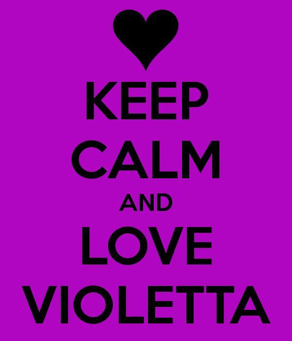 Keep calm and Love Violetta