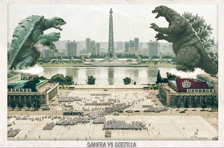 Godzilla czy Gamera?