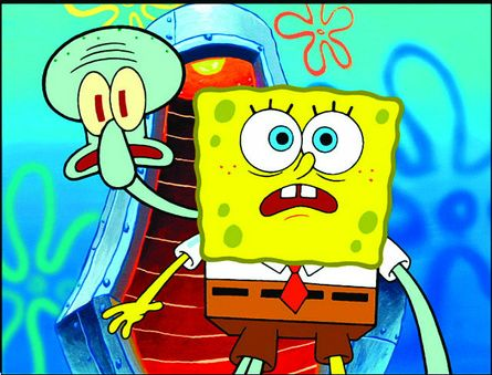 SpongeBob i Skalmar