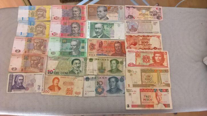 Sprzedam banknoty, używane, tanio