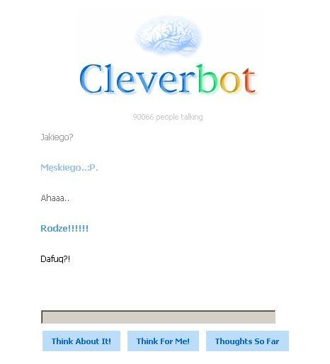 Cleverbot rodzi!