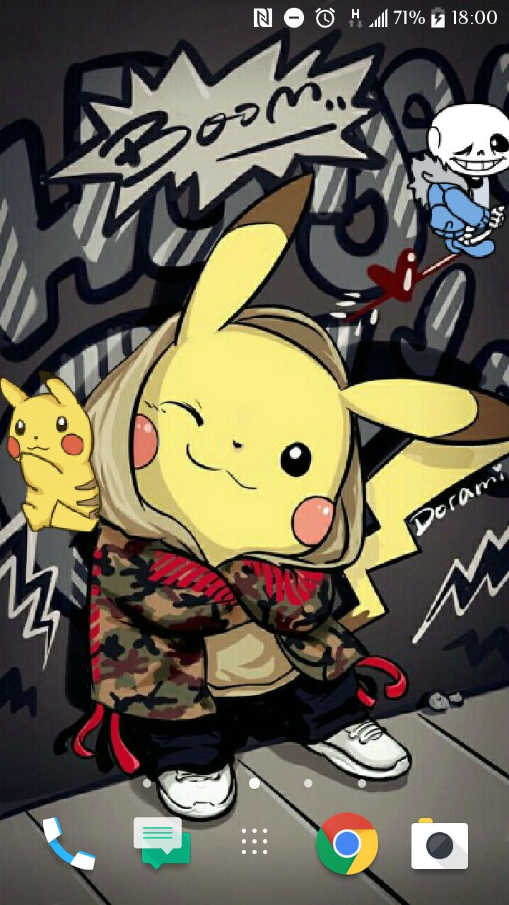 Uwięziłem Pikachu i Siemaka w moim telefonie