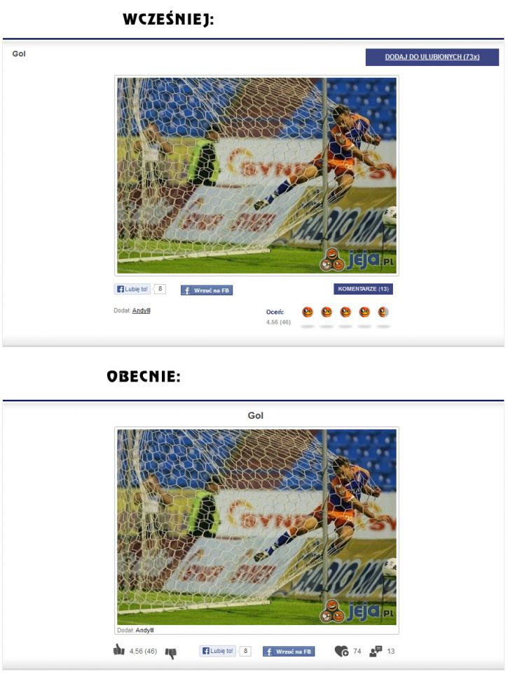 Lista obrazków przed i po