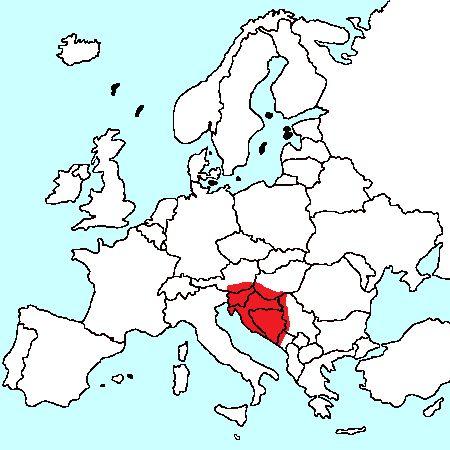 położenie baroni w europie