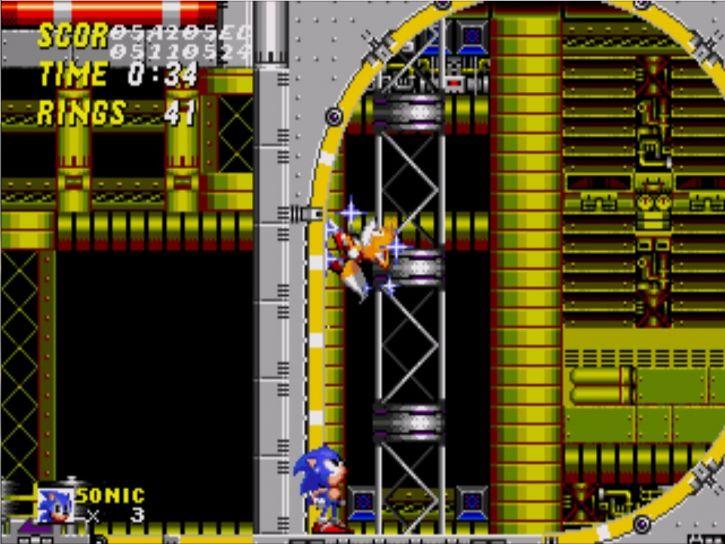 Zabawa z Debug Mode w Sonic 2.