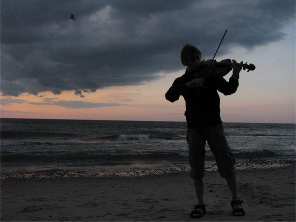 Krakowiak nad morzem
