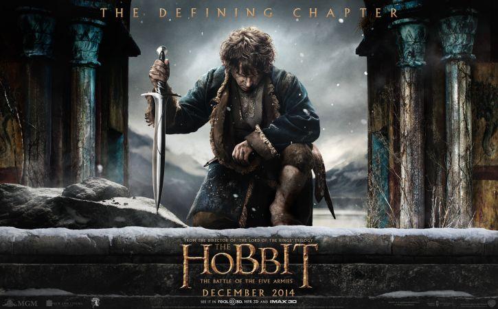 Hobbit: Bitwa Pięciu Armii - Plakat