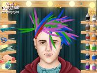 Zwariowana Fryzura Justina Biebera Ubieranki Jejapl