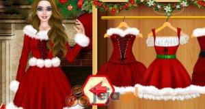 Świąteczna Barbie