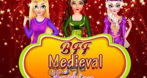 Średniowieczne kreacje księżniczek