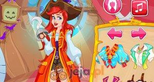 Księżniczki piratki i Halloween